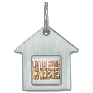 Little Cutie Blue Cheese Pet Name Tag
