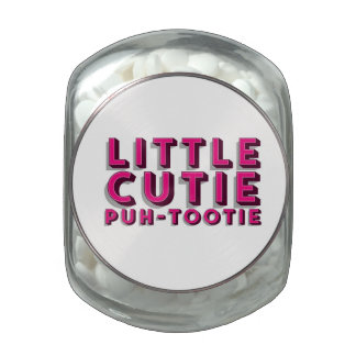 Little Cutie Glass Jars