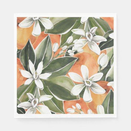 Little Cutie Paper Napkins Citrus Napkins