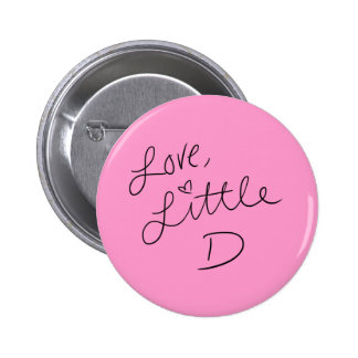 Little D Pinback Button