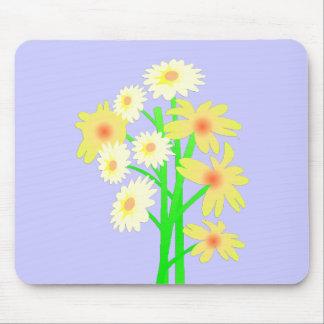 Little Daisy Bouquet Mouse Pad