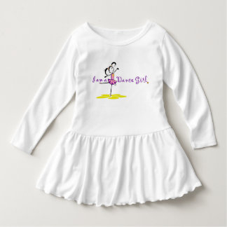Little Dance Girl Dress Tshirts
