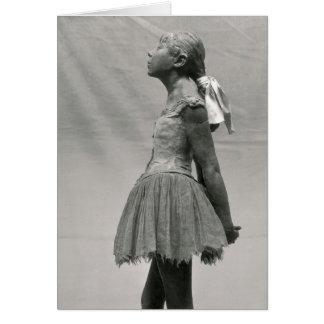 Little Dancer, Aged 14 Greeting Card