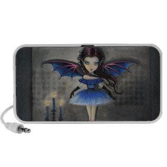 Little Dancer Vampire Fairy Doodle Speaker doodle
