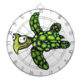 """""""Little Dave"""" Turtle, Fish with Attitude Dart Board"""