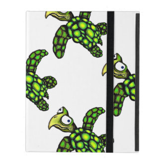 """""""Little Dave"""" Turtle, Fish with Attitude iPad Cover"""