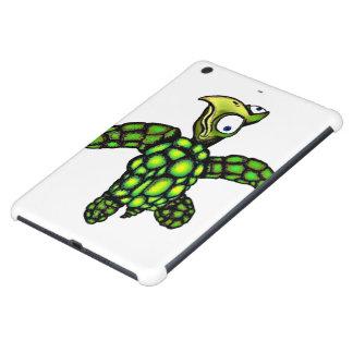 """Little Dave"" Turtle, Fish with Attitude iPad Mini Cases"