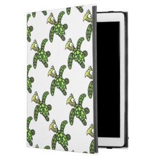 """Little Dave"" Turtle, Fish with Attitude iPad Pro 12.9"" Case"