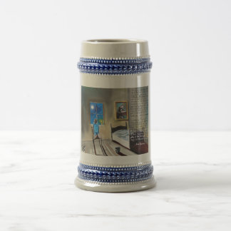 Little David Copperfield Dickens painting Beer Stein