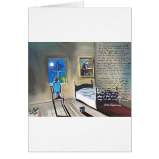 Little David Copperfield Dickens painting Card
