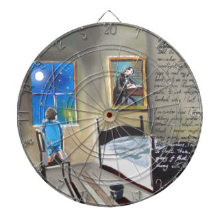 Little David Copperfield Dickens painting Dartboards