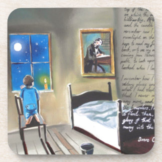 Little David Copperfield Dickens painting Drink Coaster