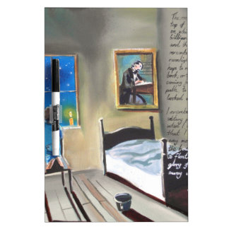 Little David Copperfield Dickens painting Dry-Erase Board