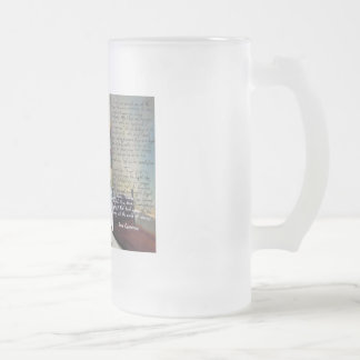 Little David Copperfield Dickens painting Frosted Glass Beer Mug