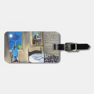 Little David Copperfield Dickens painting Luggage Tag