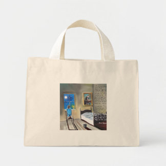 Little David Copperfield Dickens painting Mini Tote Bag