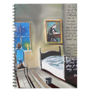 Little David Copperfield Dickens painting Notebook