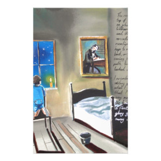 Little David Copperfield Dickens painting Stationery