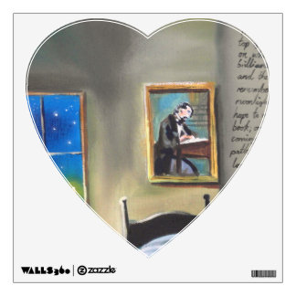 Little David Copperfield Dickens painting Wall Sticker