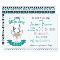 Little Deer Baby Shower Card