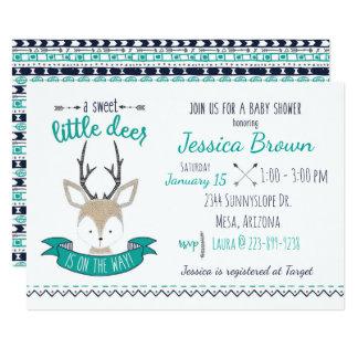 Little Deer Baby Shower Card