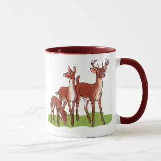 Little Deer Family Mug