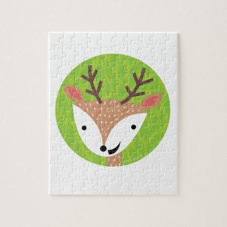 Little Deer - Woodland Friends Jigsaw Puzzle