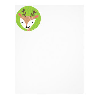 Little Deer - Woodland Friends Letterhead