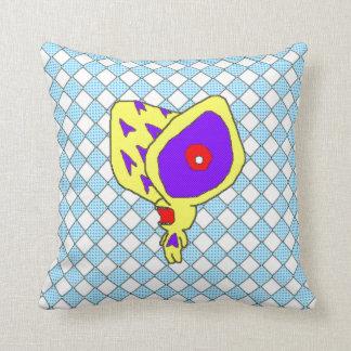 Little Demon No.1 Throw Pillow