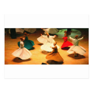 little dervishes postcard