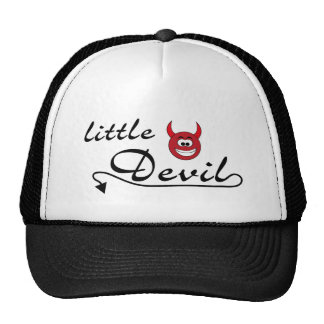 little devil again trucker hat