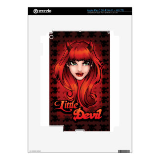 Little Devil Decals For iPad 3