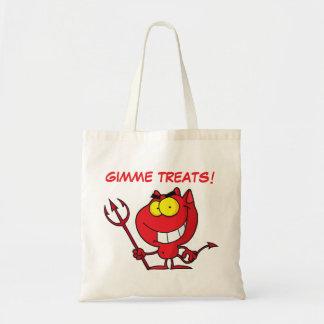 Little Devil Evil Trick or Treater Tote Bag