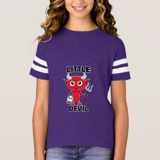 Little Devil - Girls' Football Shirt T-Shirt