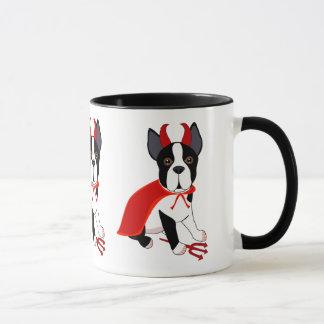 Little Devil Halloween Dog Mug