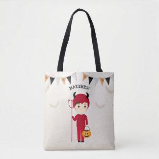 Little Devil Halloween Party Tote Bag
