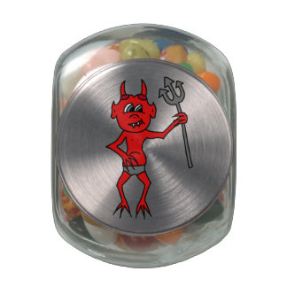 Little Devil Jelly Belly Candy Jars