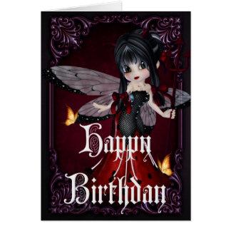 Little Devil Ladybug Design 1b Happy Birthday Card