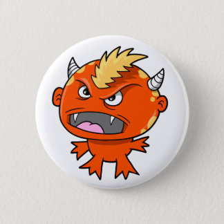 Little Devil Monster Beast  Button
