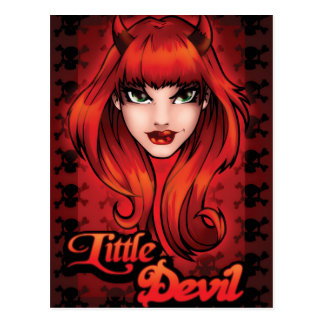 Little Devil Postcard