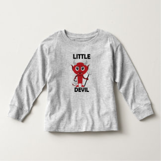Little Devil - Toddler Long Sleeve T-Shirt Toddler T-shirt