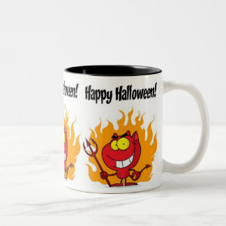 Little Devil Two-Tone Coffee Mug