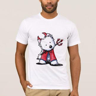 Little Devil Westie Apparel T-Shirt