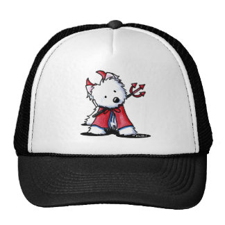 Little Devil Westie Apparel Trucker Hat