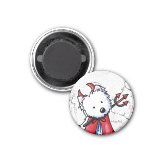 Little Devil Westie Magnet