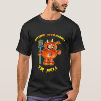 Little Devil with Going Straight to Hell T-Shirt