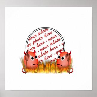 Little Deviled Egg Photo Frame Print