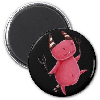 Little devils - Devils dance art Fridge Magnet
