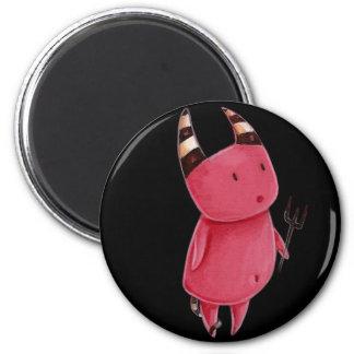 Little devils - Devils dance art Fridge Magnets