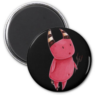 Little devils - Devils dance art 2 Inch Round Magnet